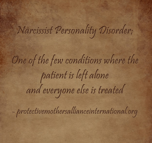 Narcissist Personality Disorder | Protective Mothers' Alliance