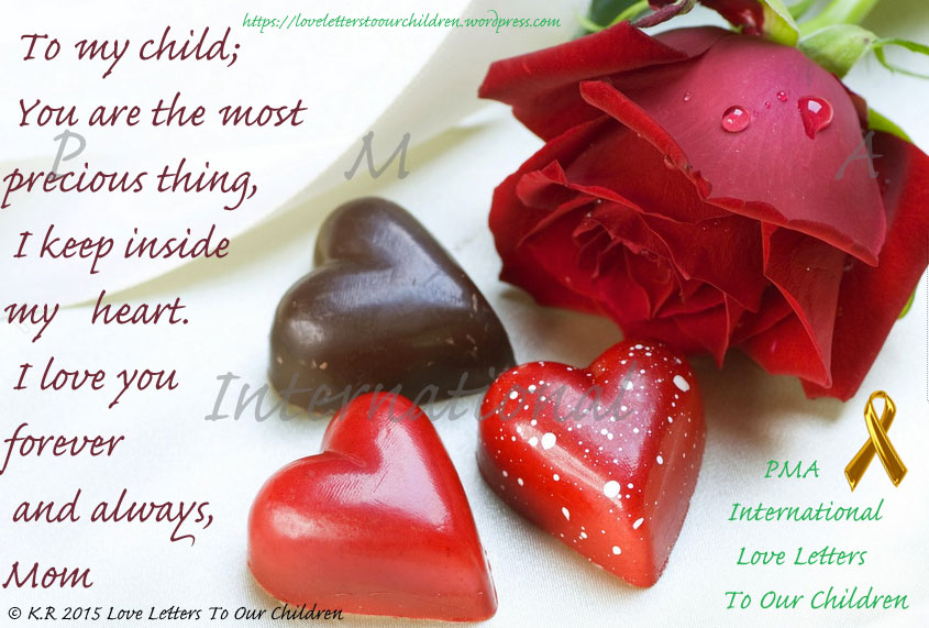 INSIDE MY HEART PICTURE QUOTE Protective Mothers' Alliance Best Valentines Day Quotes For Mother